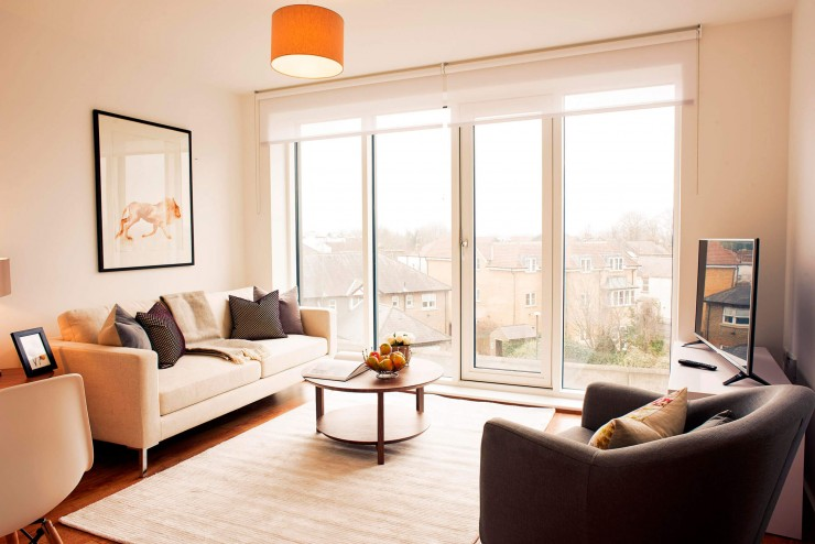 Split Level Two Bedroom Apartment